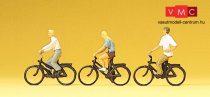 Preiser 10336 Fiatal kerékpárosok (H0)