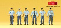 Preiser 10341 Francia rendőrök nyári egyenruhában (H0)