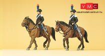 Preiser 10398 Carabinieri, olasz lovasrendőrök (H0)