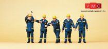 Preiser 10432 THW-munkások bevetésen (H0)