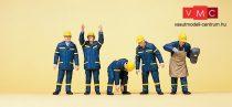 Preiser 10433 Svájci THW-munkások bevetésen (H0)