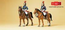Preiser 10435 Francia Köztársasági Gárda lovasai (H0)