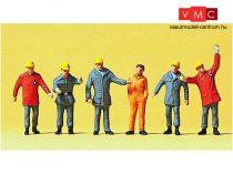 Preiser 10458 THW-munkások 1990 (H0)