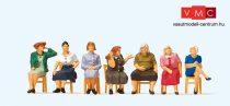Preiser 10580 Várakozó, ülő hölgyek (H0)