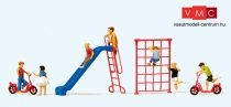 Preiser 10616 Játszótéri gyerekek, játékokkal (H0)
