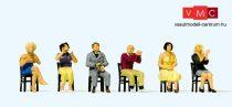 Preiser 10624 Ülő tapsoló nézők (H0)