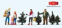 Preiser 10627 Karácsonyfa vásár (H0)