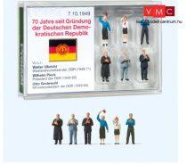 Preiser 13403 Német Demokratikus Köztársaság kormányfő készlet - 70 éves államalapítási évforduló (H0)