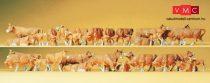 Preiser 14409 Tehenek, barna (H0)