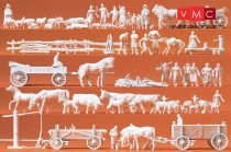 Preiser 16327 Vidéki kiegészítők, parasztok, földművesek (H0)