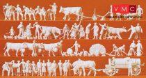 Preiser 16354 Vidéki kiegészítők, parasztok, földművesek (H0)