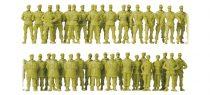 Preiser 16543 Német álló és menetelő figurák (H0)