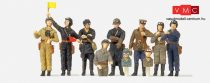 Preiser 16546 Szovjet harckocsizók 1939-45 (USSR) (H0)