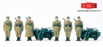 Preiser 16571 Német motorizált egység, álló, Wehrmacht (1939-45) (H0)