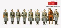 Preiser 16585 Német aknavetős katonák, sorban, Wehrmacht (1939-45) (H0)
