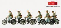 Preiser 16596 Német kerékpáros katonák, Wehrmacht (1939-45) (H0)