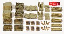 Preiser 16603 Lőszer, lőszeresládák és katonai kiegészítők (H0)