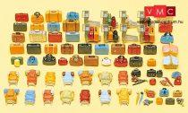 Preiser 17005 Bőröndök, hátizsákok, táskák, csomagok (H0)