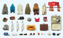 Preiser 17008 Ruhadarabok, táskák, csomagok stb. (H0)
