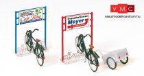Preiser 17163 Kerékpártároló kerékpárokkal (H0)