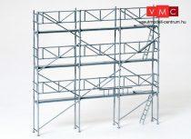 Preiser 17180 Alumínium állványzat építkezésekhez, 10 x 10cm (H0)