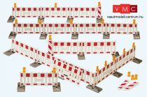 Preiser 17182 Terelőkorlátok építkezésekhez (H0)