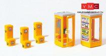 Preiser 17213 Postaládák és telefonfülkék (H0)