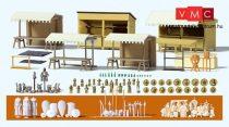 Preiser 17216 Középkori lovagi torna épületei és kiegészítői (H0)