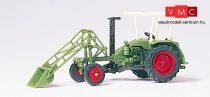 Preiser 17928 Deutz homlokrakodós traktor (H0)
