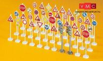 Preiser 18203 Közlekedési jelzőtáblák (H0)