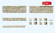 Preiser 18215 Kőfal sarokkövekkel (H0)