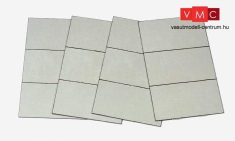Preiser 18325 Betonlap útelemek 216 x 132 x 2,5 mm (H0)