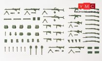 Preiser 18358 Katonai fegyverek II., Wehrmacht (1939-45) (H0)