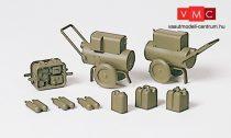Preiser 18364 Hegesztőtranszformátor és generátor, katonai olajzöld színben (H0)
