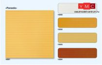 Preiser 19594 Dekorlap, beltéri tetőpanel/falpanel - vörösbarna színben, 95 x 95 mm, 3 db (H0)