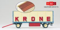 Preiser 21021 Nyitott pótkocsi, Zirkus Krone (H0)