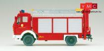 Preiser 31182 Mercedes-Benz 1017 LF16 tűzoltóautó emelődaruval (H0)