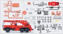 Preiser 31269 Magirus 250 D 25 A KW16 tűzoltódaru - Feuerwehr (H0) - építőkészlet