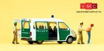 Preiser 33248 Ford Transit rendőrautó rendőrökkel (H0)