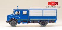 Preiser 37001 Mercedes-Benz LA 1113 B/42 GKW 72 műszaki teherautó, THW (H0)