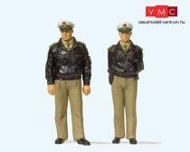 Preiser 44900 Rendőrök, zöld egyenruhában (G)