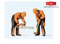 Preiser 44914 Modern erdei munkások 3. (G)
