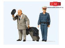Preiser 44915 Osztrák rendőrnő járókelővel (G)