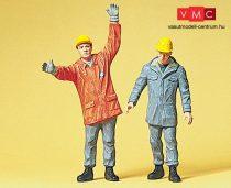 Preiser 45016 THW-munkások (G)