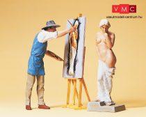 Preiser 45095 Festőművész és modellje (G)