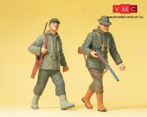 Preiser 45136 Sétáló vadászok puskával (G)