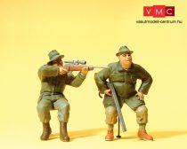 Preiser 45137 Ülő vadászok puskával (G)