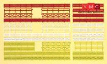 Preiser 79551 Kerítések (30 db) (N)