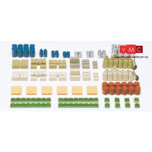 Preiser 79566 Rakományok: dobozok, ládák, zsákok, hordók, rekeszek stb. (N)