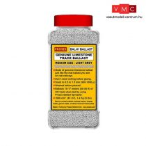 Proses BAL-O-01 1.4 Kg (3 lbs) Authentic Limestone Ballast O Scale (Light Grey)